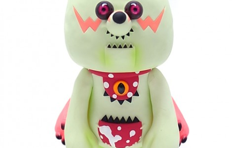 """BearBy"" MEDICOM TOY exclusive ""maico akiba color"" (vinyl) -1"